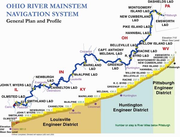 Louisville District Gt Missions Gt Civil Works Gt Navigation